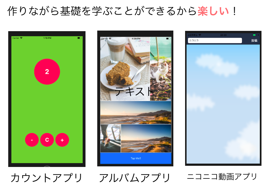 TECH::CAMP iPhoneアプリ 基礎
